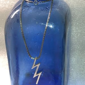 Vintage Sarah Coventry Lightening Bolt necklace